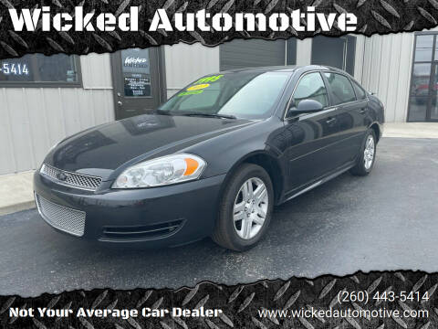 2012 Chevrolet Impala for sale at Wicked Automotive in Fort Wayne IN