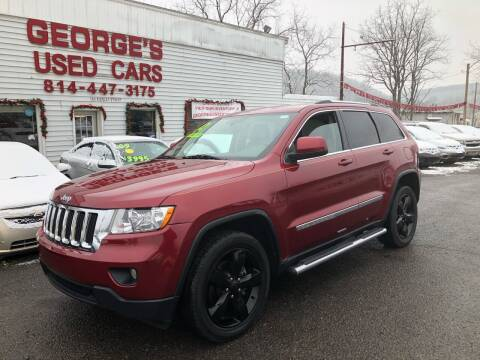 2012 Jeep Grand Cherokee for sale at George's Used Cars Inc in Orbisonia PA