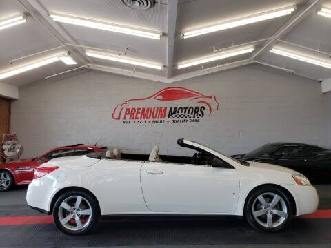 2007 Pontiac G6 for sale at Premium Motors in Villa Park IL