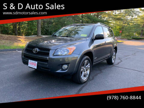 2009 Toyota RAV4 for sale at S & D Auto Sales in Maynard MA