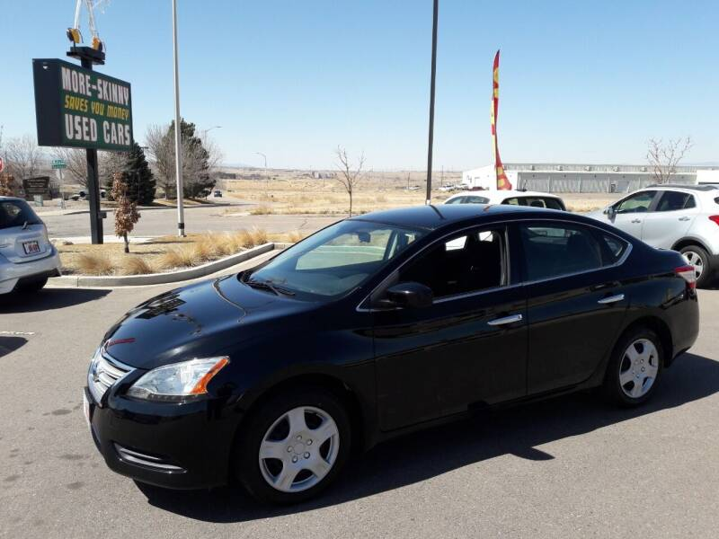 2015 Nissan Sentra for sale at More-Skinny Used Cars in Pueblo CO