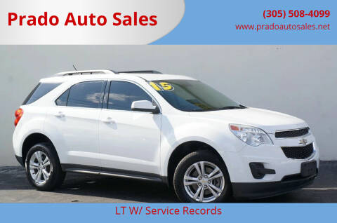2015 Chevrolet Equinox for sale at Prado Auto Sales in Miami FL