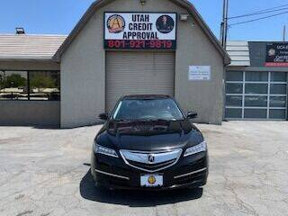 2017 Acura TLX for sale at Utah Credit Approval Auto Sales in Murray UT