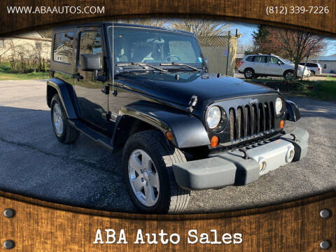 2009 Jeep Wrangler for sale at ABA Auto Sales in Bloomington IN