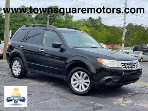 2013 Subaru Forester for sale at Town Square Motors in Lawrenceville GA