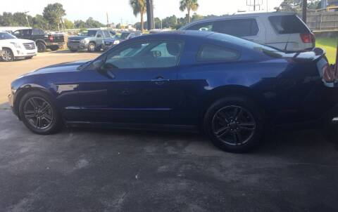 2010 Ford Mustang for sale at Bobby Lafleur Auto Sales in Lake Charles LA