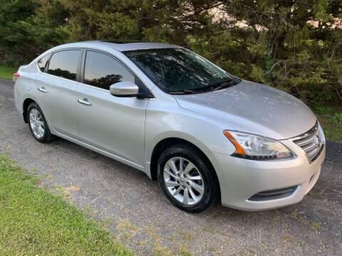 2015 Nissan Sentra for sale at Kansas Car Finder in Valley Falls KS