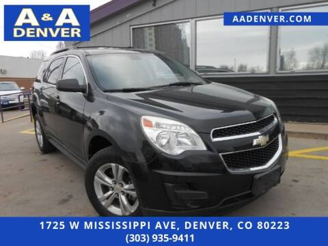 2011 Chevrolet Equinox for sale at A & A AUTO LLC in Denver CO