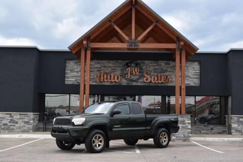 2012 Toyota Tacoma for sale at JW Auto Sales LLC in Harrisonburg VA