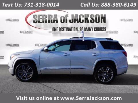 2018 GMC Acadia for sale at Serra Of Jackson in Jackson TN