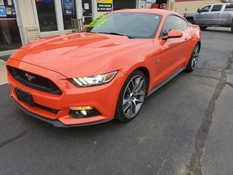 2015 Ford Mustang for sale at Bailey Family Auto Sales in Lincoln AR