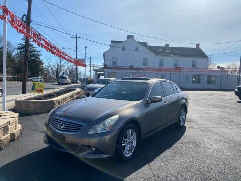 2010 Infiniti G37 Sedan for sale at FIESTA MOTORS in Hagerstown MD