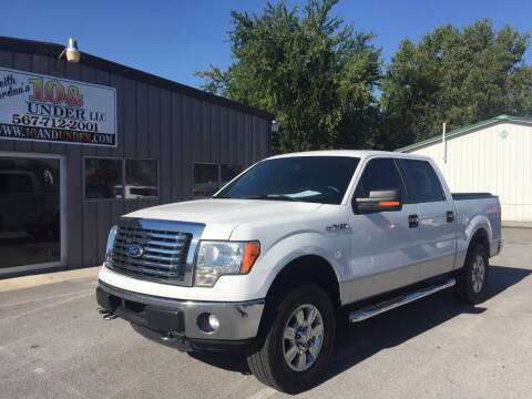 2011 Ford F-150 for sale at KEITH JORDAN'S 10 & UNDER in Lima OH
