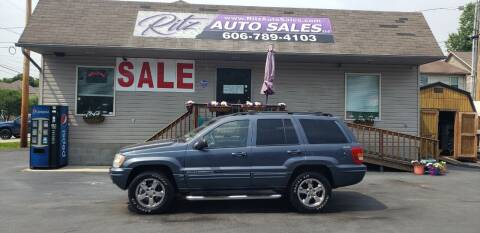 2001 Jeep Grand Cherokee for sale at Ritz Auto Sales, LLC in Paintsville KY