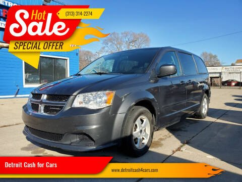 2011 Dodge Grand Caravan for sale at Detroit Cash for Cars in Warren MI