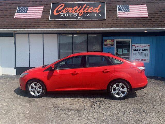 2013 Ford Focus for sale at Certified Auto Sales, Inc in Lorain OH