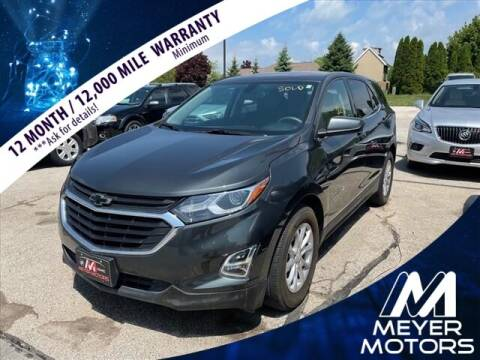 2019 Chevrolet Equinox for sale at Meyer Motors in Plymouth WI
