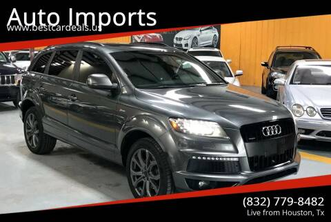 2015 Audi Q7 for sale at Auto Imports in Houston TX