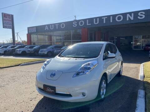 2011 Nissan LEAF for sale at Auto Solutions in Warr Acres OK