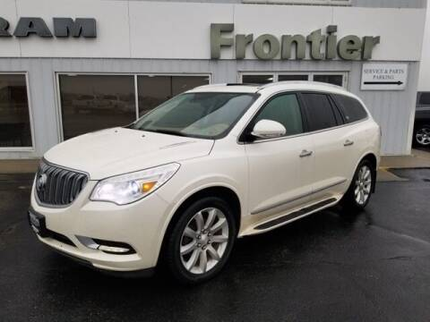 2015 Buick Enclave for sale at Frontier Motors Automotive, Inc. in Winner SD