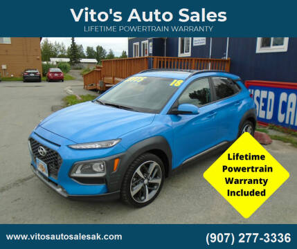 2018 Hyundai Kona for sale at Vito's Auto Sales in Anchorage AK
