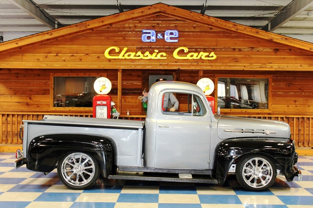 1951 Ford F-100 7