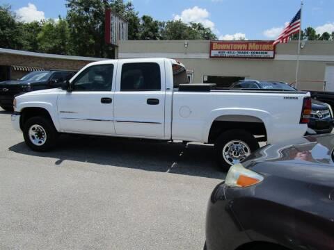 2006 GMC Sierra 2500HD for sale at Downtown Motors in Milton FL