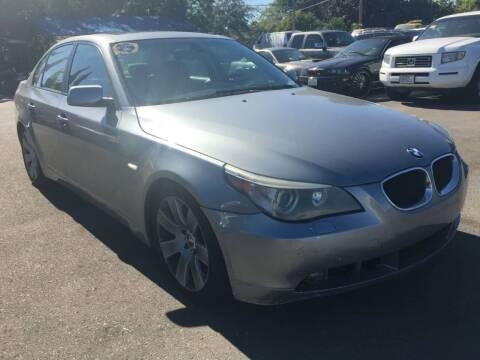 2005 BMW 5 Series for sale at Dealer Finance Auto Center LLC in Sacramento CA