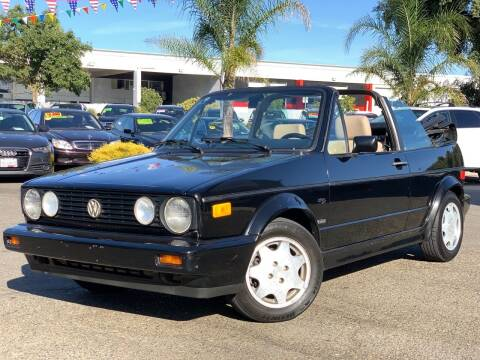 1993 Volkswagen Cabriolet for sale at SHOMAN MOTORS in Davis CA