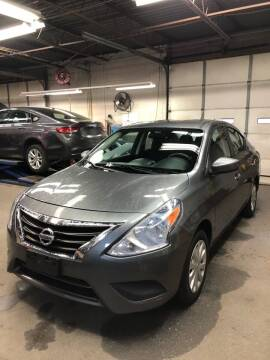 2016 Nissan Versa for sale at Jimmys Auto Sales in North Providence RI