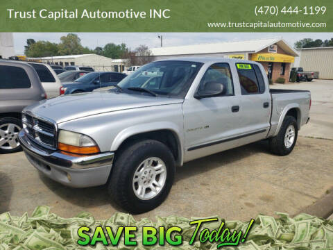 2002 Dodge Dakota for sale at Trust Capital Automotive Inc. in Covington GA