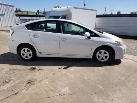 2010 Toyota Prius for sale at DFW AUTO FINANCING LLC in Dallas TX