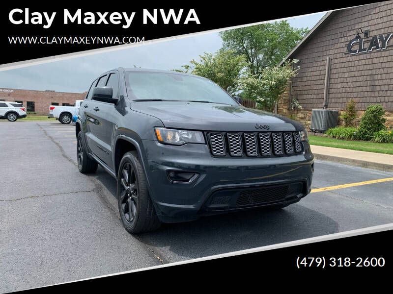 2018 Jeep Grand Cherokee for sale at Clay Maxey NWA in Springdale AR