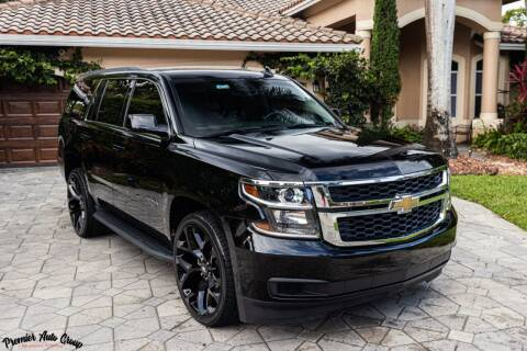 2018 Chevrolet Tahoe for sale at Premier Auto Group of South Florida in Wellington FL