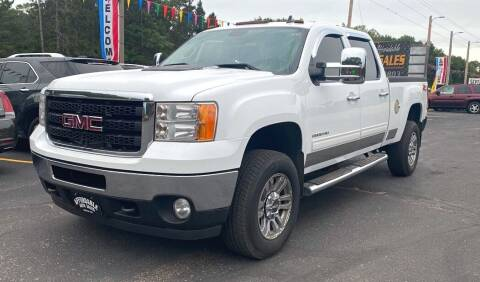 2011 GMC Sierra 2500HD for sale at Affordable Auto Sales in Webster WI