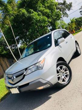 2009 Acura MDX for sale at IRON CARS in Hollywood FL