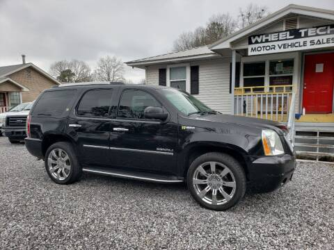 2013 GMC Yukon for sale at Wheel Tech Motor Vehicle Sales in Maylene AL