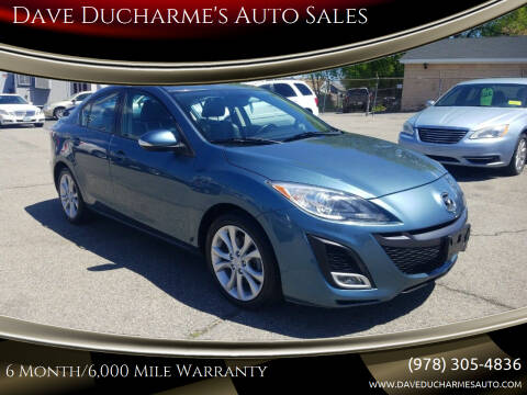 2010 Mazda MAZDA3 for sale at Dave Ducharme's Auto Sales in Lowell MA