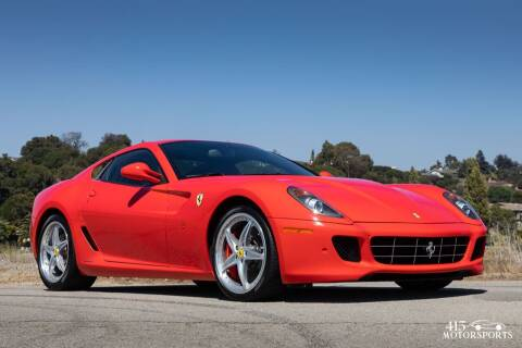 2010 Ferrari 599 GTB Fiorano for sale at 415 Motorsports in San Rafael CA