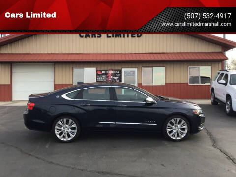 2016 Chevrolet Impala for sale at Cars Unlimited in Marshall MN