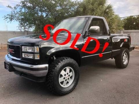 1990 GMC Sierra 1500 for sale at RPM Motors LLC in West Palm Beach FL