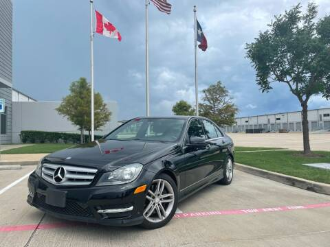 2013 Mercedes-Benz C-Class for sale at TWIN CITY MOTORS in Houston TX