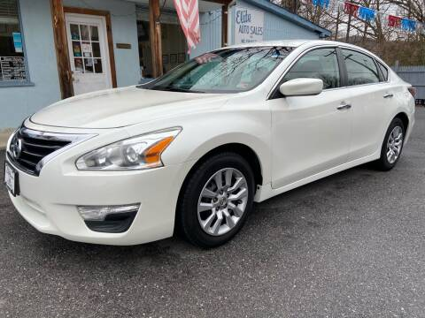2014 Nissan Altima for sale at Elite Auto Sales Inc in Front Royal VA