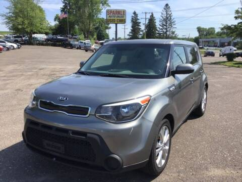 2015 Kia Soul for sale at Sparkle Auto Sales in Maplewood MN