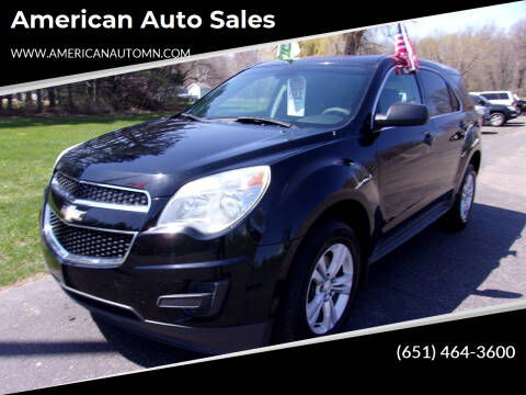 2013 Chevrolet Equinox for sale at American Auto Sales in Forest Lake MN