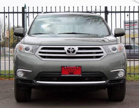 2011 Toyota Highlander for sale at Avanesyan Motors in Orem UT