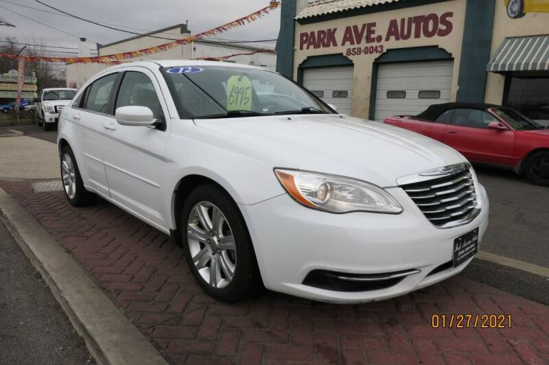 2012 Chrysler 200 for sale at PARK AVENUE AUTOS in Collingswood NJ