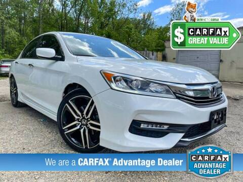 2016 Honda Accord for sale at High Rated Auto Company in Abingdon MD