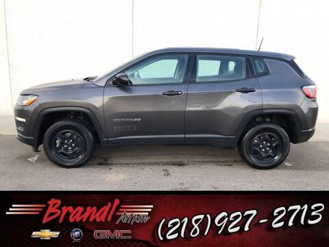 2018 Jeep Compass for sale at Brandl GM in Aitkin MN
