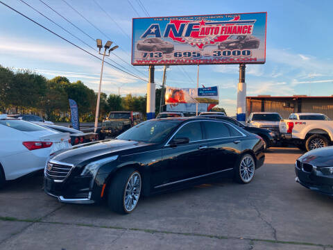 2016 Cadillac CT6 for sale at ANF AUTO FINANCE in Houston TX